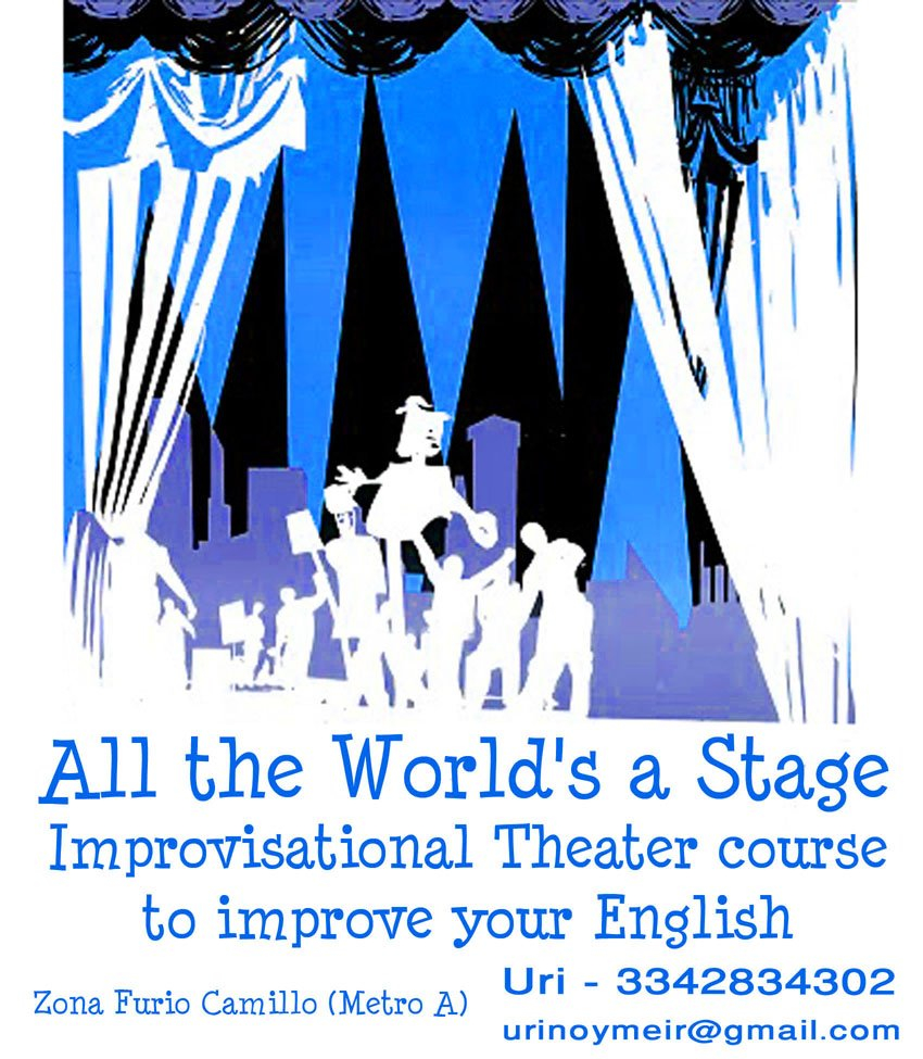 """all the worlds a stage the (all the world's a stage) [motto of william shakespeare's globe theatre (f 1599) and its acting company, the king's men taken from the first play to be performed on the new stage]"""" ― william shakespeare, as you like it."""