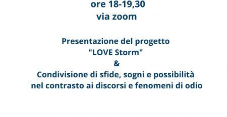 LOVE STORM IN NETWORK 3 GIUGNO